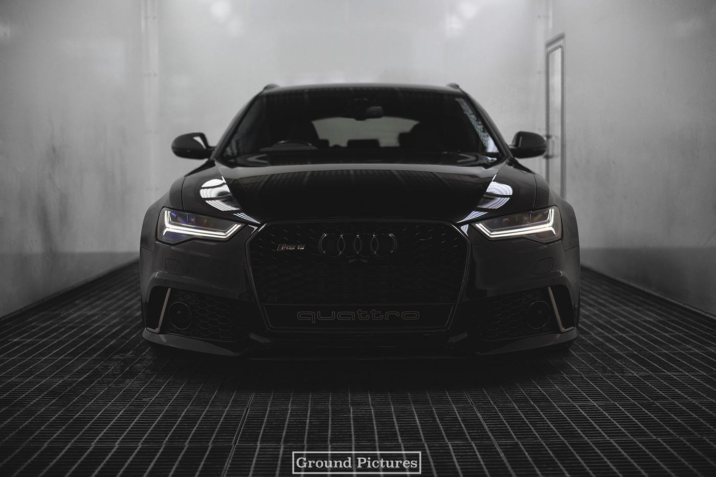 Black Audi Rs 6